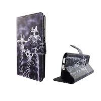 Huawei Nova Hülle Case Handy Cover Schutz Tasche Flip Schutzhülle Bumper Bunt