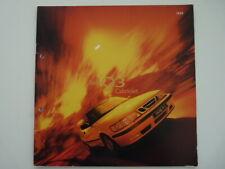 Brochure Saab 9.3 Cabriolet  1999 (N) !