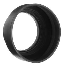 62mm 3 Stage Collapsible Rubber Lens Hood For Canon Nikon Sony Olympus Camera