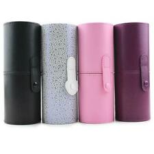 Travel Leather Cosmetic Brush Pen Holder Storage Makeup Empty Holder   #S5