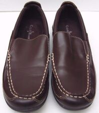 Boys Cole Haan Finley Brown Slip On Shoes - Size UK 1.5 EUR 33.5