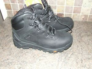 Hi-Tec Mens Altitude Infinity AL Mid Waterproof Black  Walking Boots  size 8