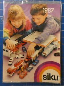 siku 1987 Modellautos Katalog H-18948