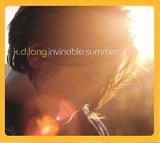 Invincible Summer by k.d. lang (CD, Jun-2000, 2 Discs, Warner Bros.)