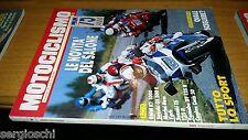 MOTOCICLISMO anno 1989 # 11-BMW K1 1000-SUZUKI GS 500E-SUZUKI TS 125 R-YAMAHA