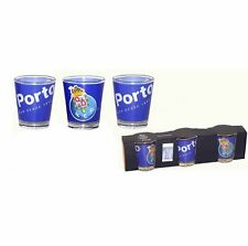 FC Porto Set of 3 Shot Glasses Officially Licensed Product Ref PTO859