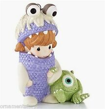 Hallmark 2013 Boo and Mike Disney Pixar Monsters INC Precious Moments Porcelain