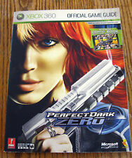 Perfect Dark Zero (2005, Paperback) Official Game Guide Xbox 360