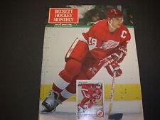 Beckett Hockey Monthly Magazine January 1991 Steve Yzerman Ken Dryden  M21