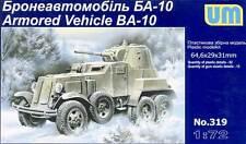 UM - Armored Veicolo BA-10 Corazzato difesa 45mm Modello Kit - 1:72 Carro armato