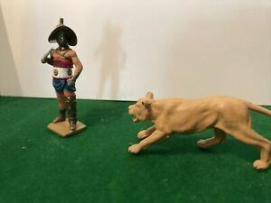 metal toy soldier Gladiator