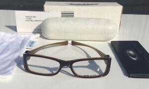 Oakley Spontaneous Unisex Striped Plum Optical Frames & Micro Fiber Cloth 22 090