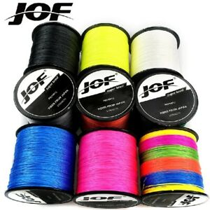 100/300M JOF Multifilament Premium Super Strong Japanese Braided Fishing Line