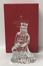 Waterford Crystal Ireland The Nativity Collection Wise Man Melchior Figurine