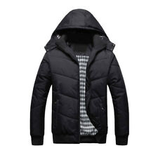Men's Winter Ski Jacket Duck Down Jacket Snow Warm Hooded Coat Oversize