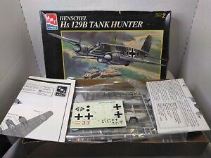 Amt 1/48 scale Henschel Hs 129B Tank Hunter mib