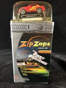 RadioShack Zip Zaps Micro RC Mazda Rx-7 1:64 Radio Control Starter Kit SEALED!!