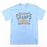 GILDAN Carmel Lady Greyhounds Blue Sports Short Sleeve T-Shirt Womens M
