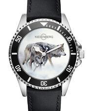 Wolf Wölfe Geschenk Fan Artikel Zubehör Fanartikel Uhr L-2719