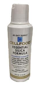 Cellfood Essential Silica Formula 4 Oz by Lumina Health Sealed EXP 09/2023