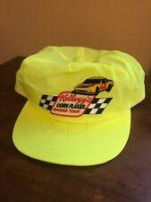 Vintage Steve Kinser Kellogg's #11 Racing Snapback Hat Autographed