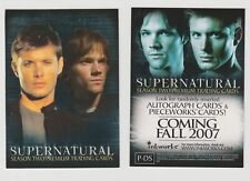 INKWORKS SUPERNATURAL SEASON 2 PROMO CARD P-DS