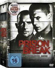 PRISON BREAK, Season 1-4 + The Final Break (24 DVDs) NEU+OVP