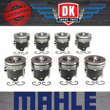 Ford Powerstroke 6.0L - 2004-2010 - Mahle Piston Set (8) - STD - Without Rings
