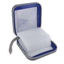 40 Capacity CD/DVD Case Holder Portable Disc Wallet Storage Bag Hard Case Blue