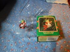 Enesco Small Wonders Christmas Ornament Sewing Holiday Wishes 594490