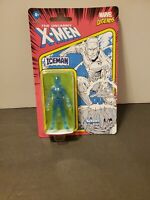 Marvel Legends Iceman Retro 3.75in X-Men Figure KENNER / Hasbro 2021 IN HAND