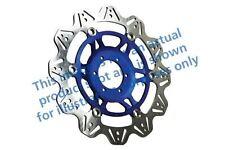 Para Moto Guzzi 1200 Breva 08>09 EBC VR Disco de Freno Azul Buje Delantero