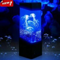 Jellyfish Aquarium LED Multicolor Lighting Fish Tank Mood Lamp Night Light New