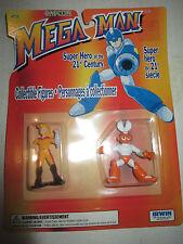 "1994 1995 Megaman MOC 2"" Roll & Cutman Mini Figure Capcom Irwin"