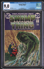 Swamp Thing #1 DC 1972 CGC 9.0 Swamp Thing Origin 1st Matt Cable 042721DBCG