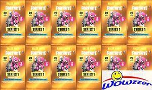 (12) 2019 Panini FORTNITE Trading Cards Factory Sealed JUMBO FAT Packs-240 Cards