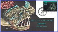 U #3441 U/A COLLINS HAND PAINTED FDC   Fangtooth Deep Sea Creatures