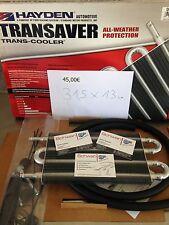 Oelkühler Automatikgetriebe Zusatzkühler Hayden Transaver Trans Cooler 31,5 x 13