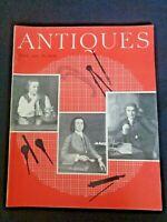 ANTIQUES 1959 Magazine Johann von Junger enamel Vienna Woodlawn Plantation VA