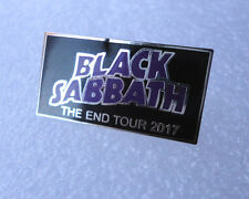 Black Sabbath Tour pin badge END commemorative 2017
