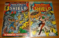 AGENTS OF SHIELD #3,4 STERANKO COVERS  1973  #3 7.0 #4 9.0