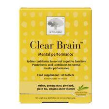 New Nordic cerebro claro para el rendimiento mental 60 comprimidos