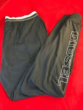 "BNWT DIESEL Mens Navy Soft Cotton Loungepant  Pyjama.Bottom Size XXL W34"" L30"