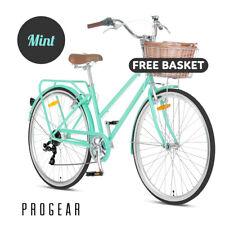 NEW Progear Vintage Retro Bike Classic Ladies Pomona Bicycle FREE BASKET SET
