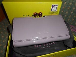 TED BAKER ladies /girls clutch bag/purse boxed/dust bag cute unusual colour