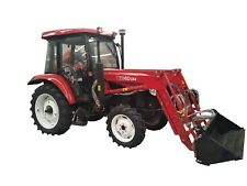 YTO MF554 – 4WD – 55HP – FRONT END LOADER – 4 IN 1 BUCKET – AIRCAB OR ROPS AVAIL