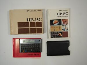 HP 15C Scientific Calculator with Original Box, Manual and more
