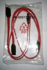 """2 NEW SATA CABLE ASUS P/N 14-000107071 RED 19"""""""