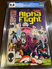 Alpha Flight #3 CGC 9.8 1st Lady Deathstrike