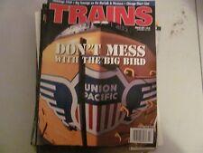 "Vintage ""TRAINS"" magazine March 2001"